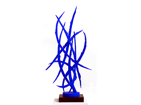 Blue No. 1, 2019. Sculpture by Adrian Mauriks.