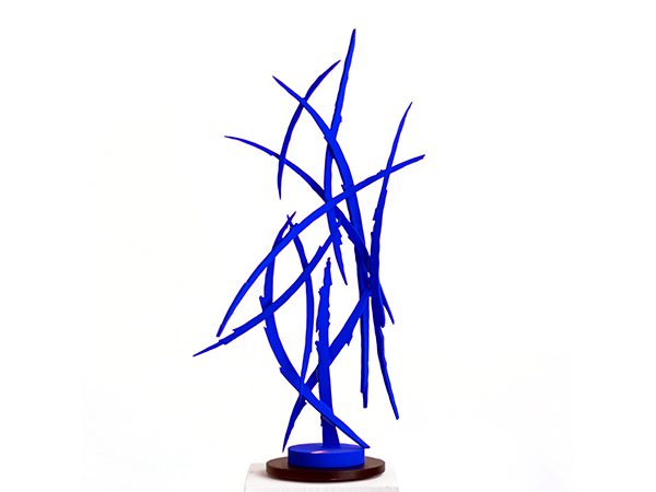 Blue No. 2, 2019. Sculpture by Adrian Mauriks.