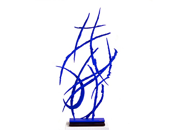 Blue No. 3, 2019. Sculpture by Adrian Mauriks.