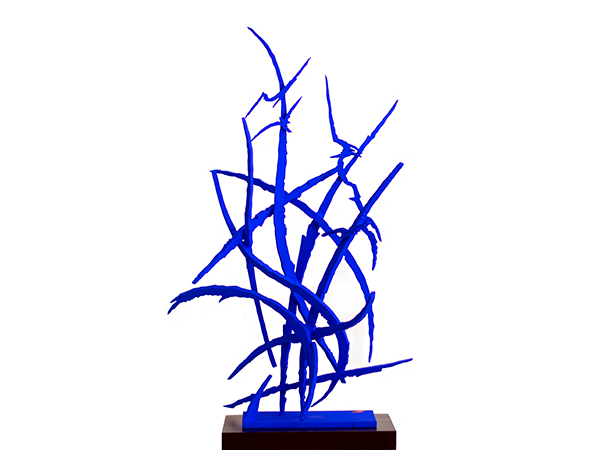 Blue No. 4, 2019. Sculpture by Adrian Mauriks.