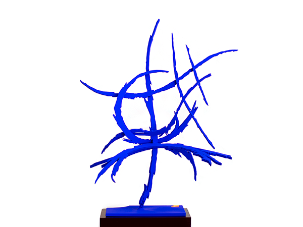 Blue No. 5, 2019. Sculpture by Adrian Mauriks.