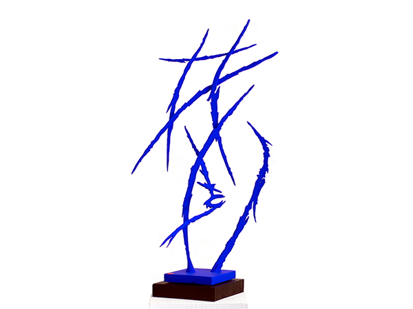 Blue No. 6, 2019. Sculpture by Adrian Mauriks.